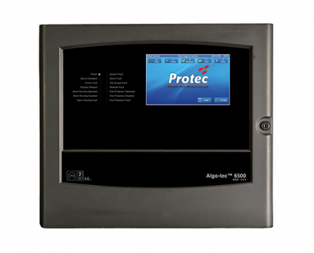 6500 Fire Alarm Control Panel