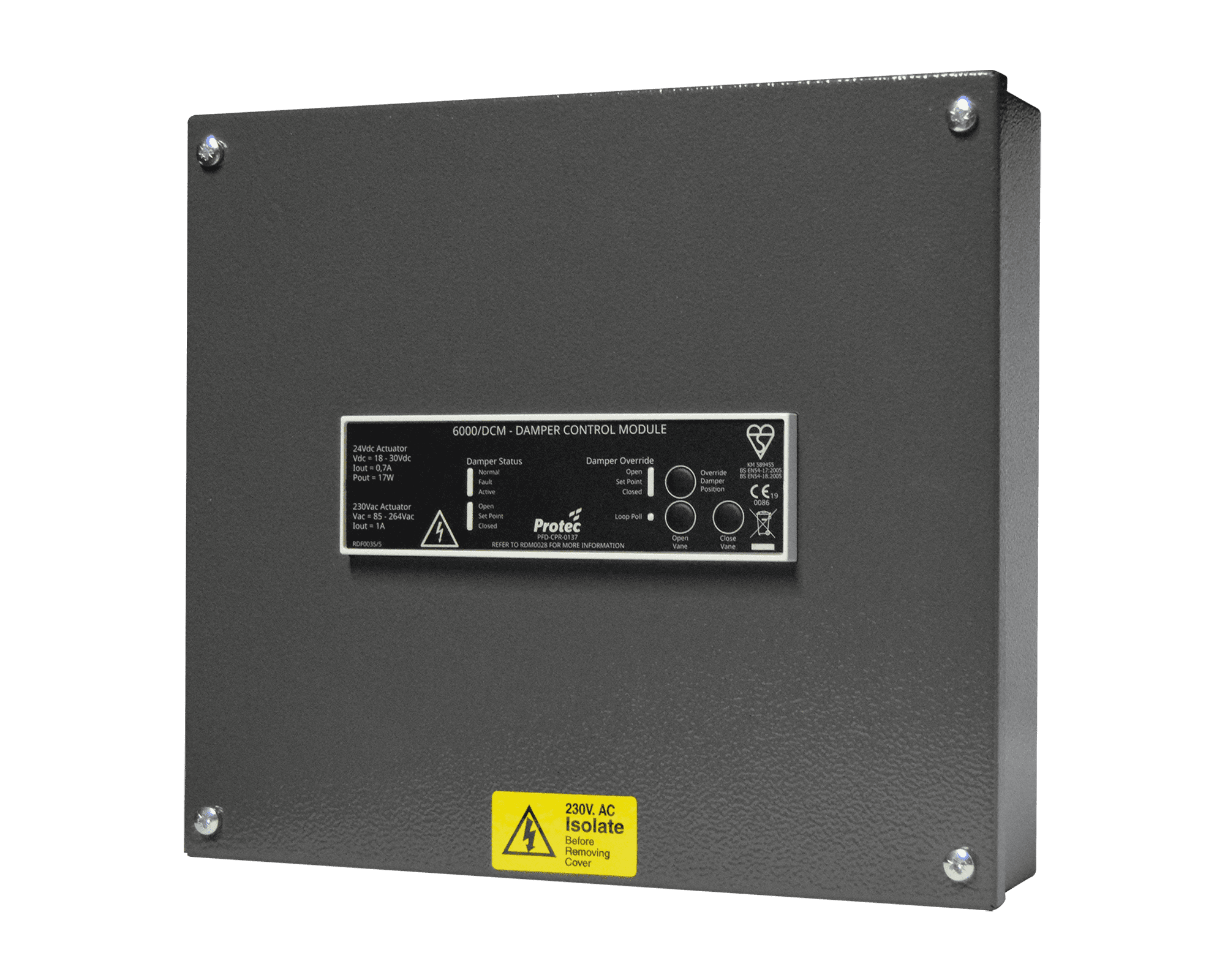 Smoke-Damper-6000-DCM