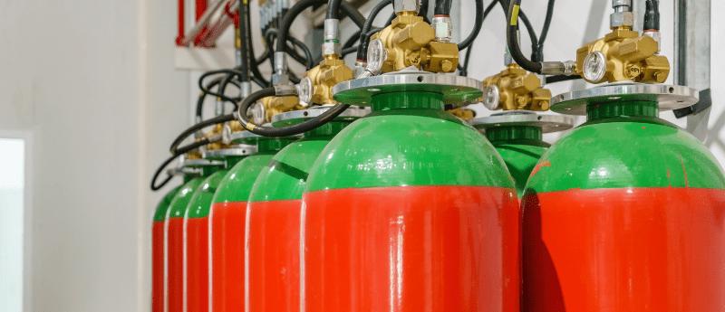 Gas suppression companies