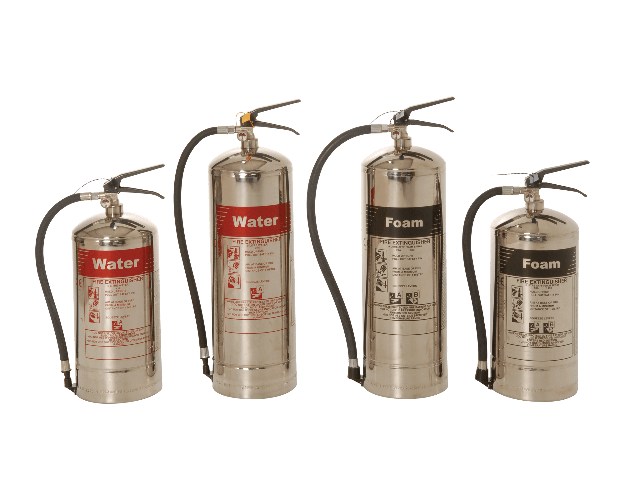 Stainless Protec Steel Extinguishers