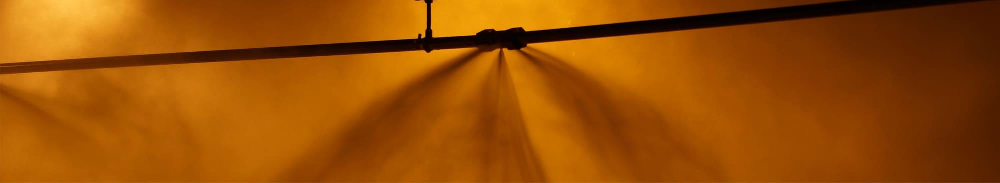 Water Mist System in Situ